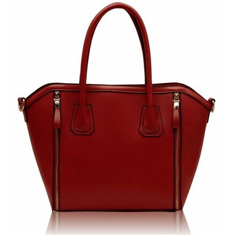 Dámská kabelka Ashley Pannier Červená