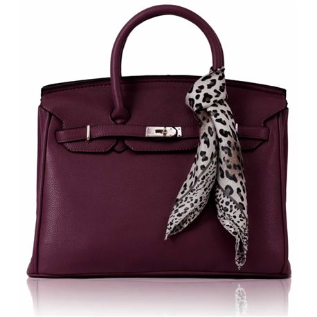 Dámská kabelka Ashley Luxus Simple Fialová