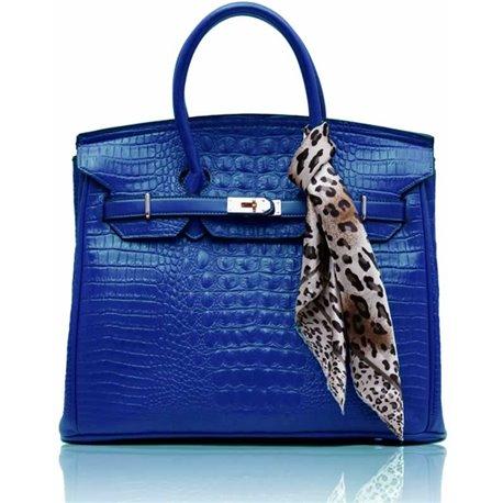 Dámská kabelka Ashley Luxus Snake Modrá