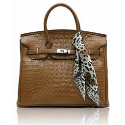 Dámská kabelka Ashley Luxus Snake Tan
