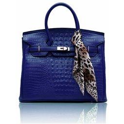Dámská kabelka Ashley Luxus Snake Navy