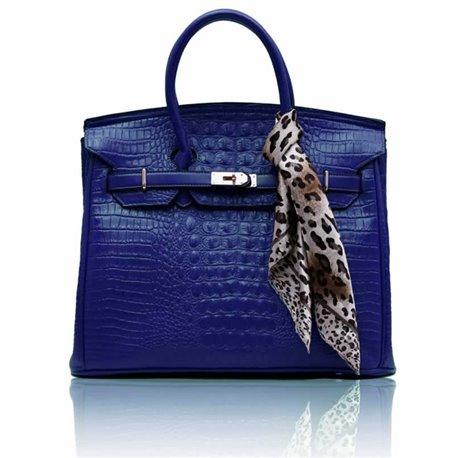 Dámská kabelka Ashley Luxus Snake Navy (Modrá)