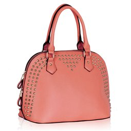Dámská kabelka Ashley Coppery Broskvová (Růžová)