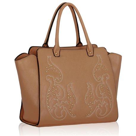 Dámská kabelka Ashley Squirrel Nude (Béžová Tělová)