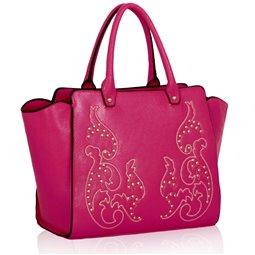 Dámská kabelka Ashley Squirrel Fuchsiová (Růžová)