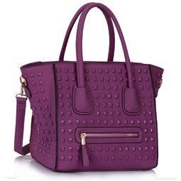 Dámská kabelka Ashley Spotted Fialová