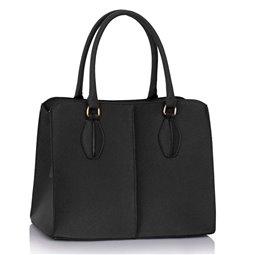 Dámská kabelka Ashley Stitch Černá