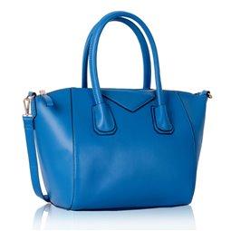 Dámská kabelka Ashley Glossy Modrá