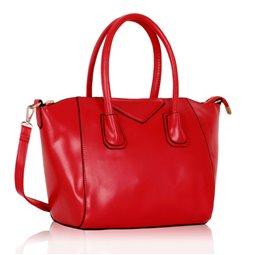 Dámská kabelka Ashley Glossy Červená