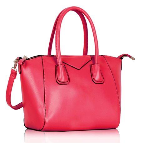 Dámská kabelka Ashley Glossy Růžová