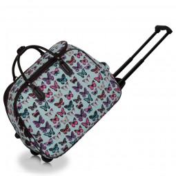 Cestovní taška s kolečky Ashley Butterfly Big Modrá