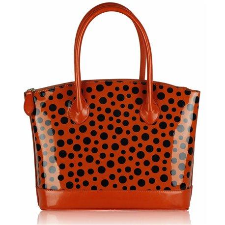 Dámská kabelka Ashley Rain Wave Oranžová (Černá)