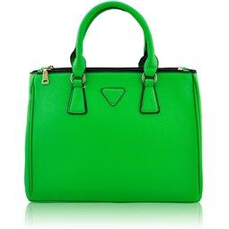 Dámská kabelka Ashley Triangle S Zelená