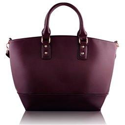 Dámská kabelka Ashley Fashion Tote Vínová (Burgundy)
