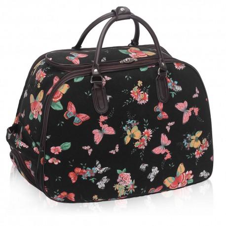 Cestovní taška s kolečky Ashley Butterfly Big Černá