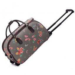 Cestovní taška s kolečky Ashley Butterfly Šedá