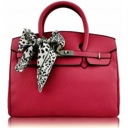 Dámská kabelka Ashley Scarf Bow Růžová