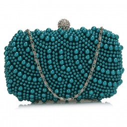 Psaníčko Ashley Oriental Pearls Teal