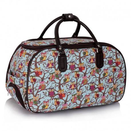 Cestovní taška s kolečky Ashley Sovičky Modrá