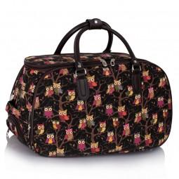 Cestovní taška s kolečky Ashley Sovičky Černá