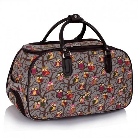 Cestovní taška s kolečky Ashley Sovičky Šedá