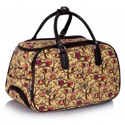 Cestovní taška s kolečky Ashley Sovičky Béžová