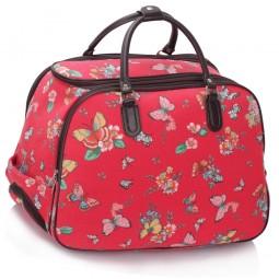 Cestovní taška s kolečky Ashley Butterfly Big Červená