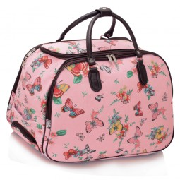 Cestovní taška s kolečky Ashley Butterfly Big Růžová
